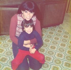 1975 mom & Eliot